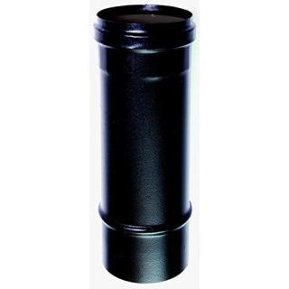 Elément droit 0.25 m acier noir