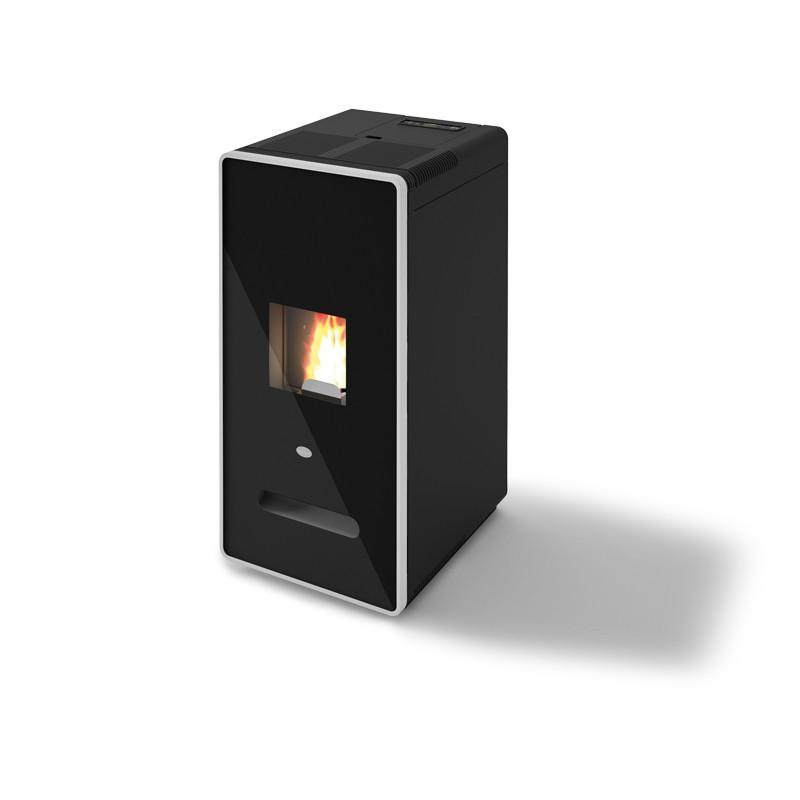 Poêle à granulés ventilé - EVACALOR Zelda 9.5 kw