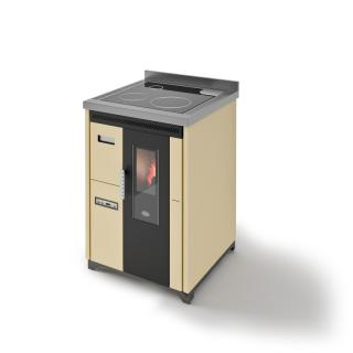 EVACALOR Nina 7.5 Kw (version pose libre et plaque vitrocéramique)