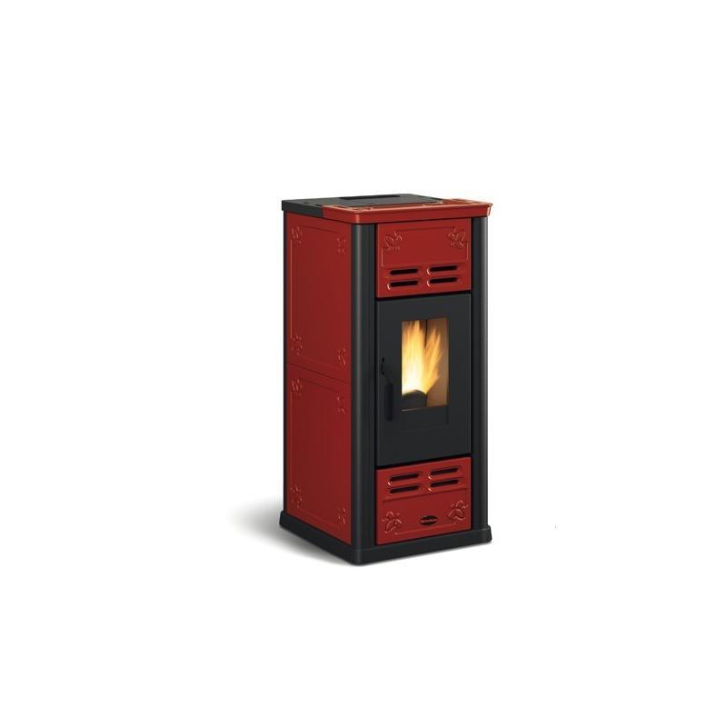 Poêle à granulés ventilé céramique - EXTRAFLAME Serafina 8kw