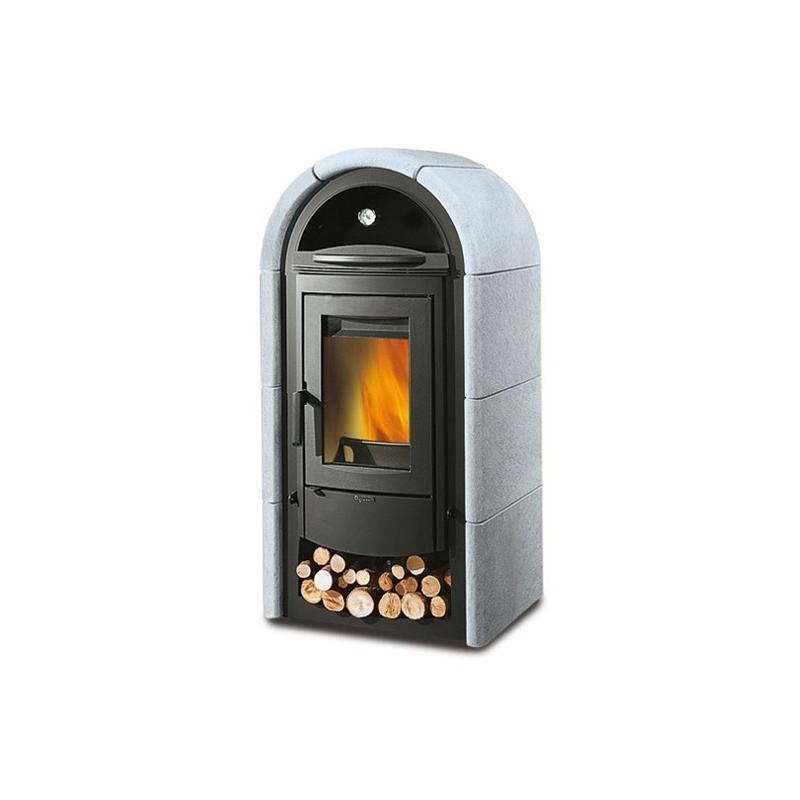 Poêle à bois avec four en pierre naturelle - LA NORDICA Stefany Forno BII 12,5 kW