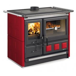 Cuisinière à bois revêtement faïence - NORDICA Rosa XXL Maiolica 10 kW