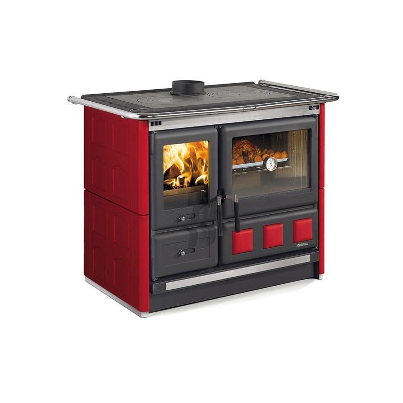 Cuisinière à bois en faïence - NORDICA Rosa XXL Maiolica 10 kW