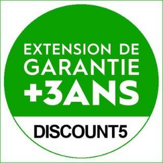Extension de garantie de 3 ans (5 ans de garantie : 3+2)  (pièce brasero)