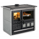 Cuisinière à bois en pierre naturelle - NORDICA Rosa XXL Petra 10 kW