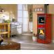 Thermo poêle à bois avec four - LA NORDICA TermoNicoletta Forno DSA 4.0 12.5 kW