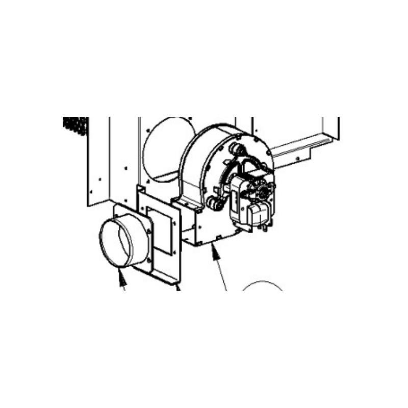 Extracteur des fumées poêles Extraflame