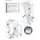 Poêle à granules ventilé - EXTRAFLAME Ketty EVO 7.5 kw