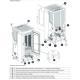 Poêle à granules ventilé - EXTRAFLAME Dahiana 10 kW