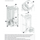 Poêle à granules thermo hydraulique étanche -EXTRAFLAME Fiandra Idro 17 kW