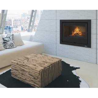 Insert à bois ventilé canalisable - BRONPI Paris 55 9.5 kW