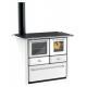 Cuisinière à bois en acier - LINCAR Gaia 149 SXV 7 kW