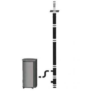 Kit vertical inférieur 100/150 mm DINAK