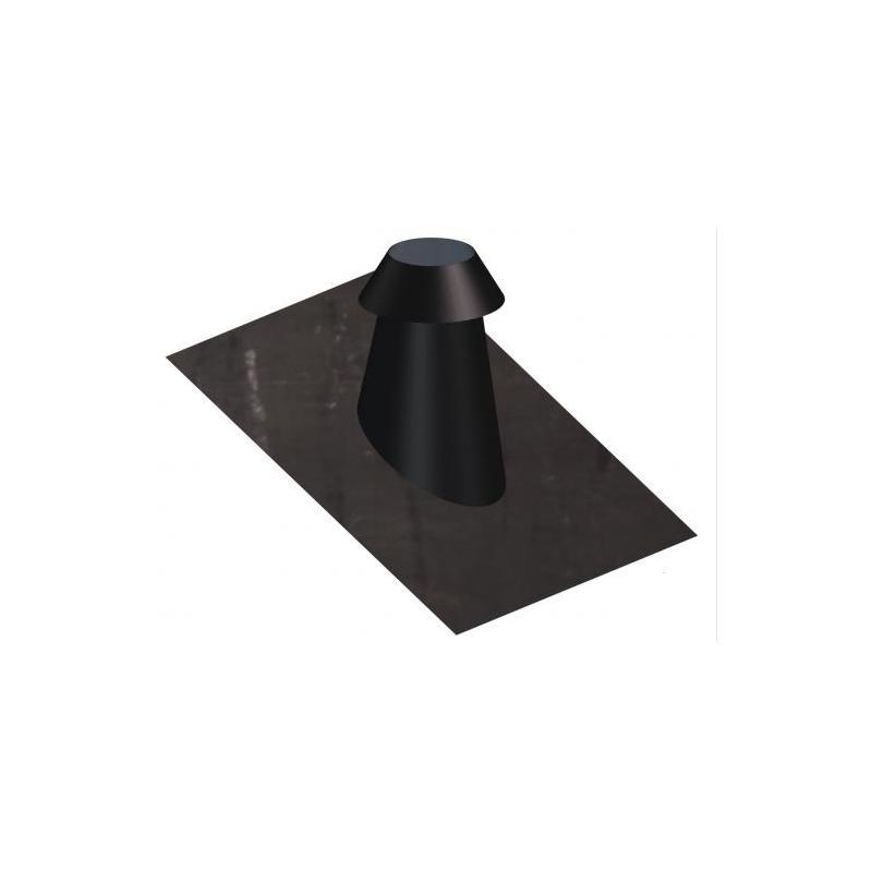 Solin de toit en pente 30/45° avec collet DINAK